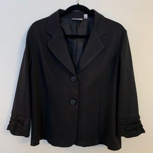 Dress Barn Black Blazer